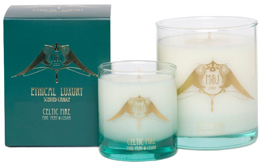 Image of M&J London Soy Candle - Celtic Fire - Large