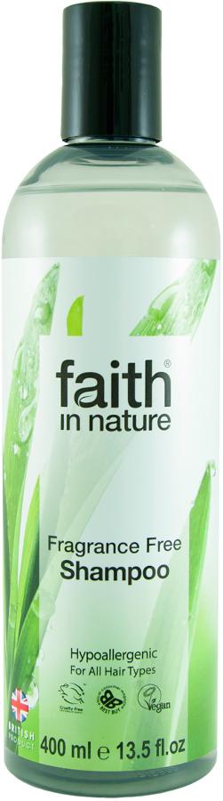 Faith In Nature Fragrance Free Shampoo - 400ml.