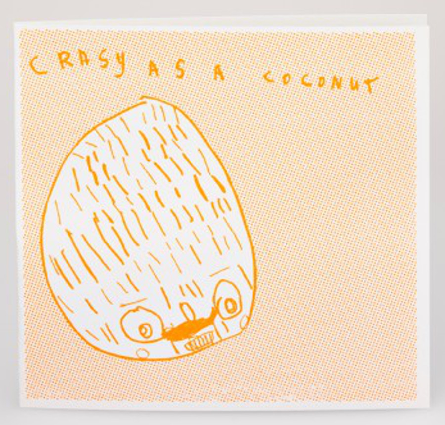 Image of Arthouse Meath Charity Crazy as a Coconut Birthday Card