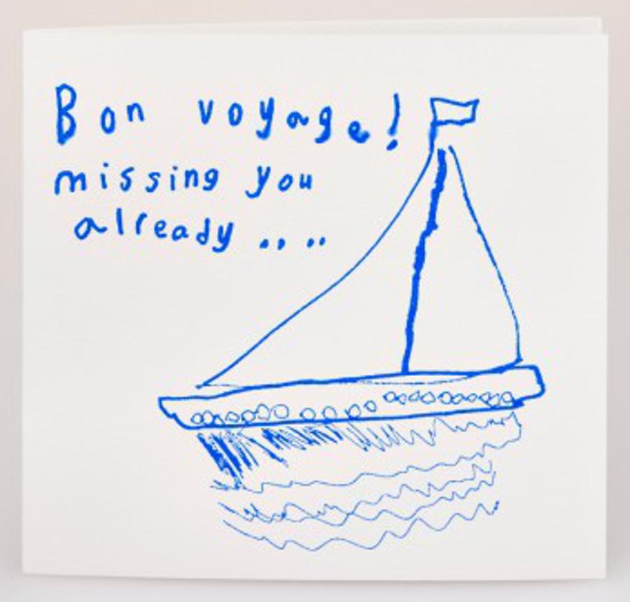 Image of Arthouse Meath Charity Bon Voyage Card