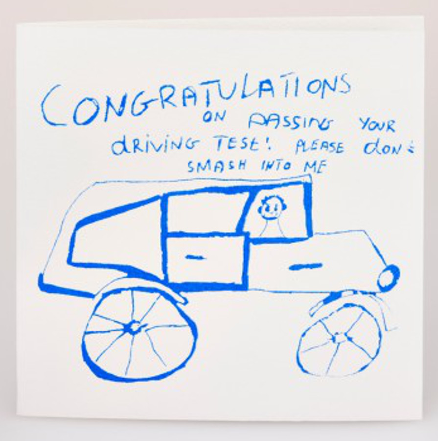 Image of Arthouse Meath Charity Driving Test Card