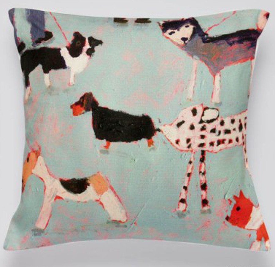 Image of Arthouse Meath Charity Dogs Day Out Cushion