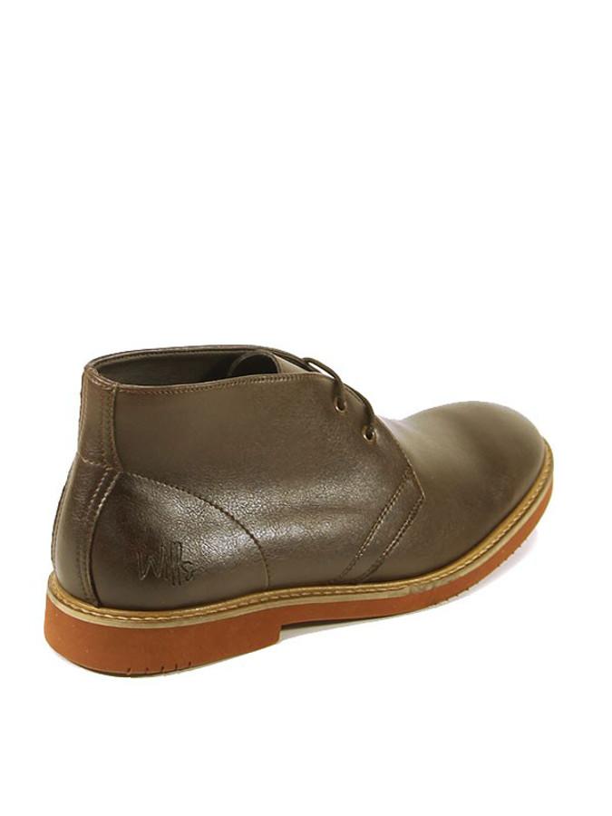 wills mens vegan desert boots brown wills