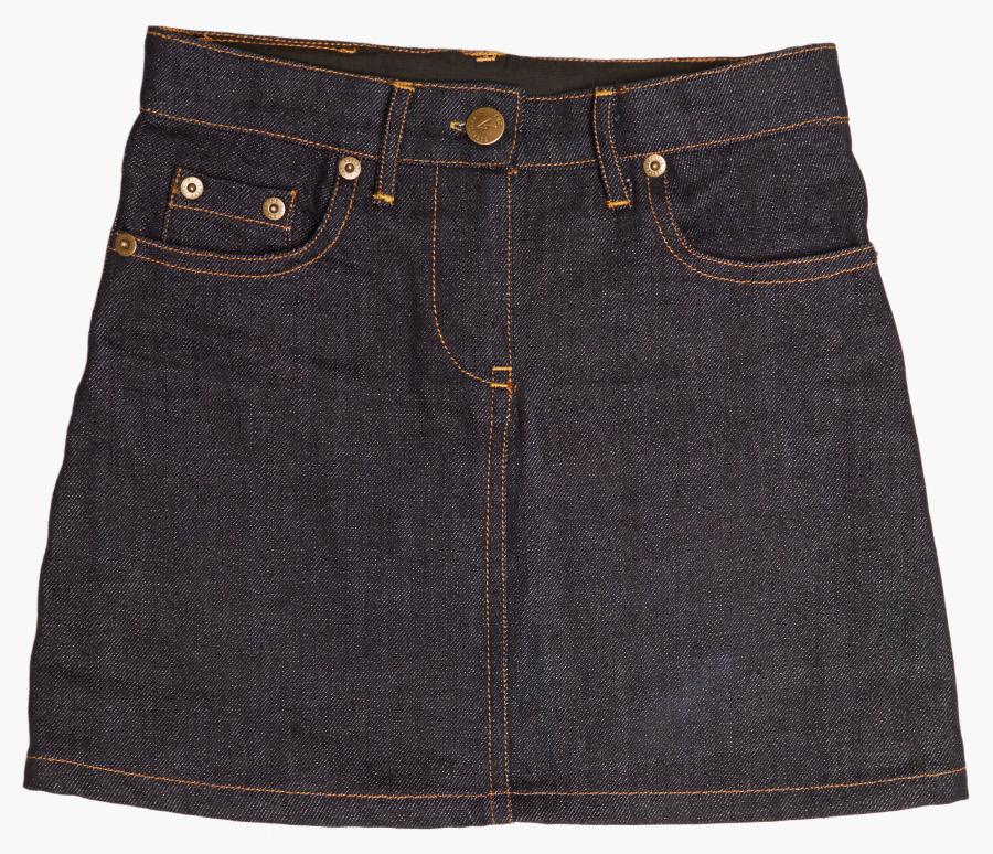 The Fableists Organic Dark Denim Skirt