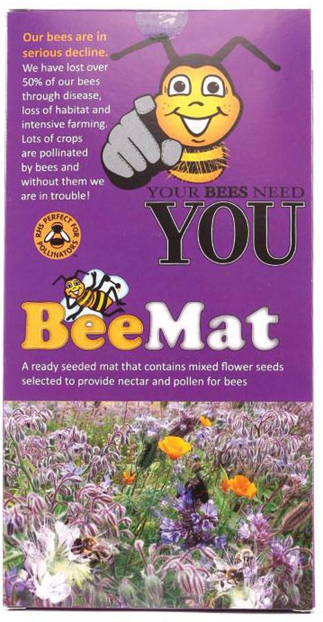 Image of Beemat Pre-Seeded Growing Mat