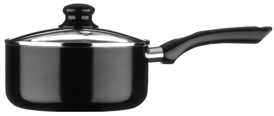 Ecocook Saucepan 20cm - Black at Natural Collection