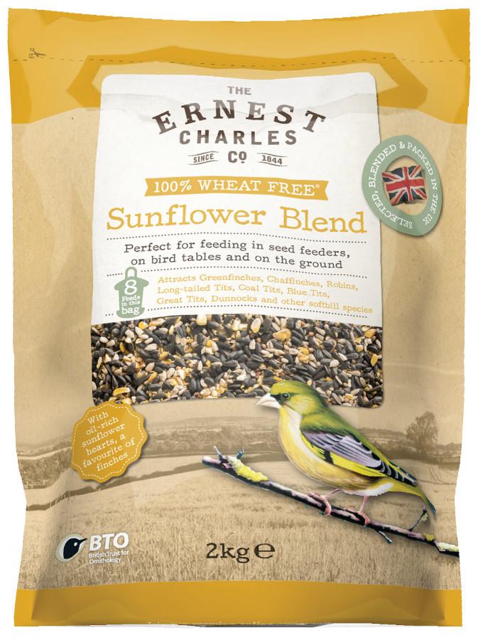 Image of Ernest Charles Sunflower Blend Bird Feed - 2kg
