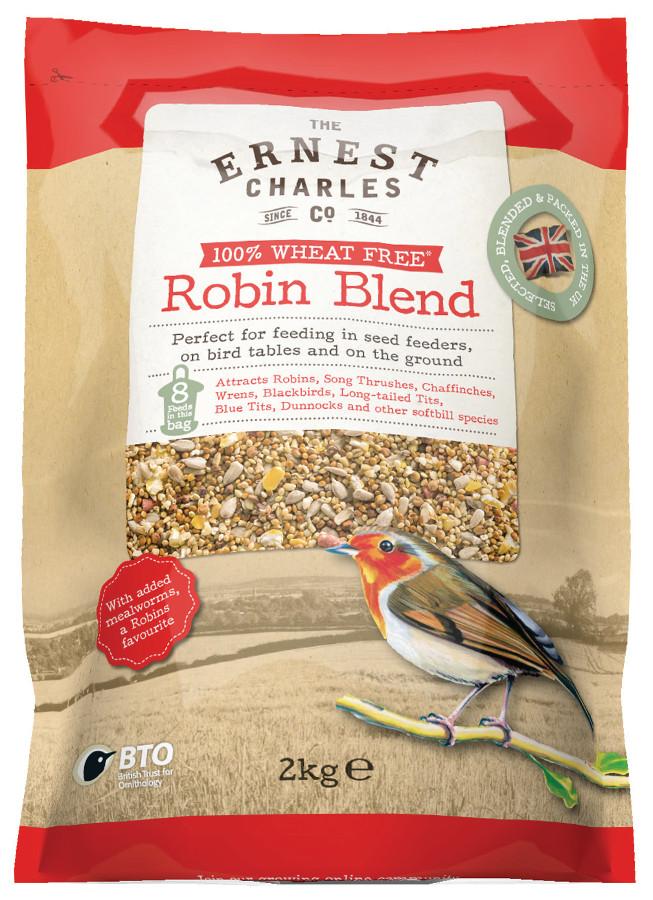 Image of Ernest Charles Robin Blend Bird Feed - 2kg