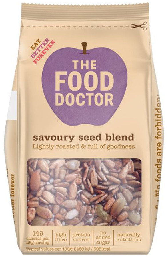 The Food Doctor Savoury Seed Blend - 250g.
