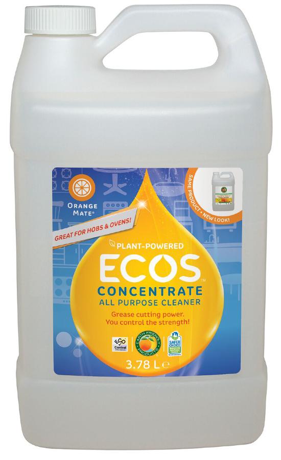 ECOS Orange Mate Concentrate Refill - 3.8L
