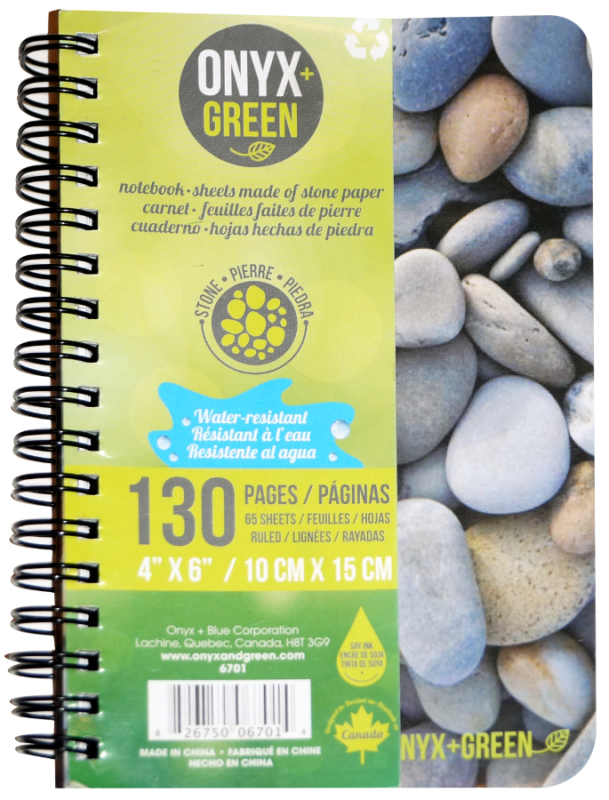 """Image of A6 Stone Paper Notebook - 4"""" x 6"""" - 65 Ruled Sheets"""