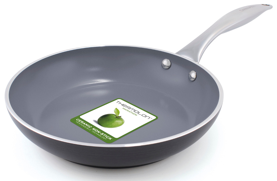 Image of GreenPan Venice Induction Open Frypan - 24cm