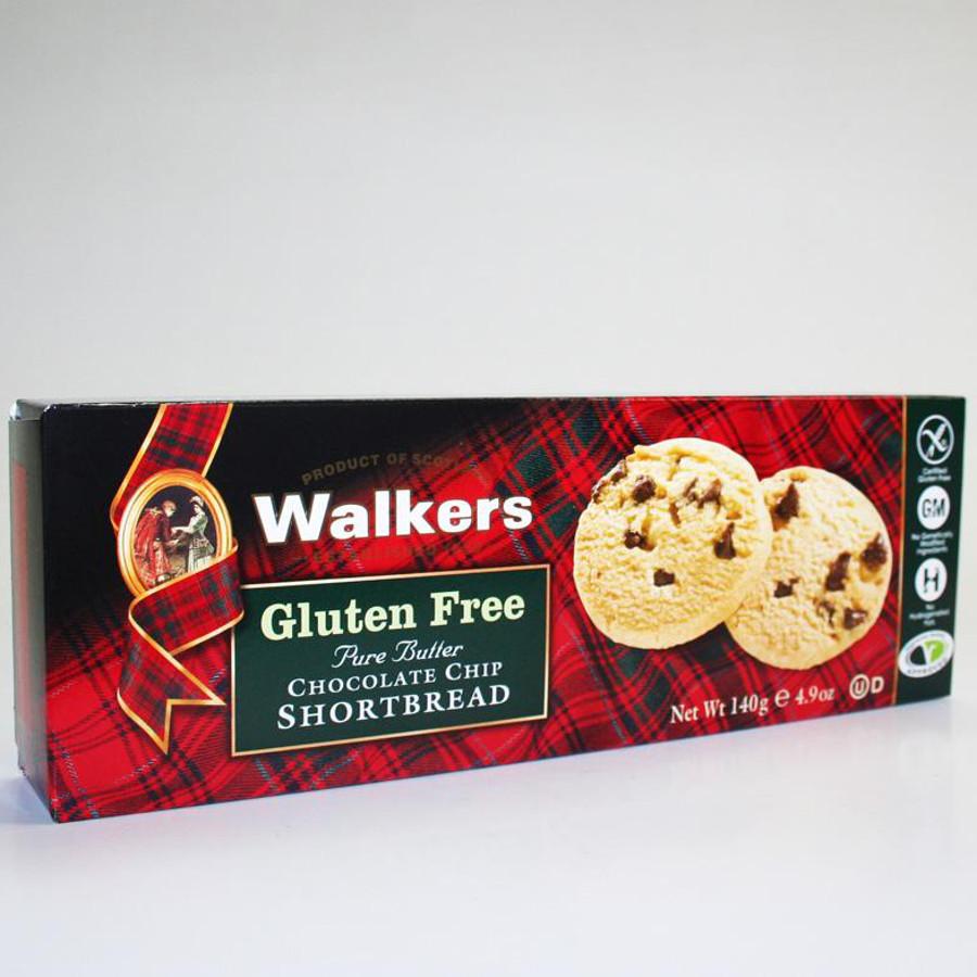 Walkers Gluten Free Chocolate Chip Shortbread