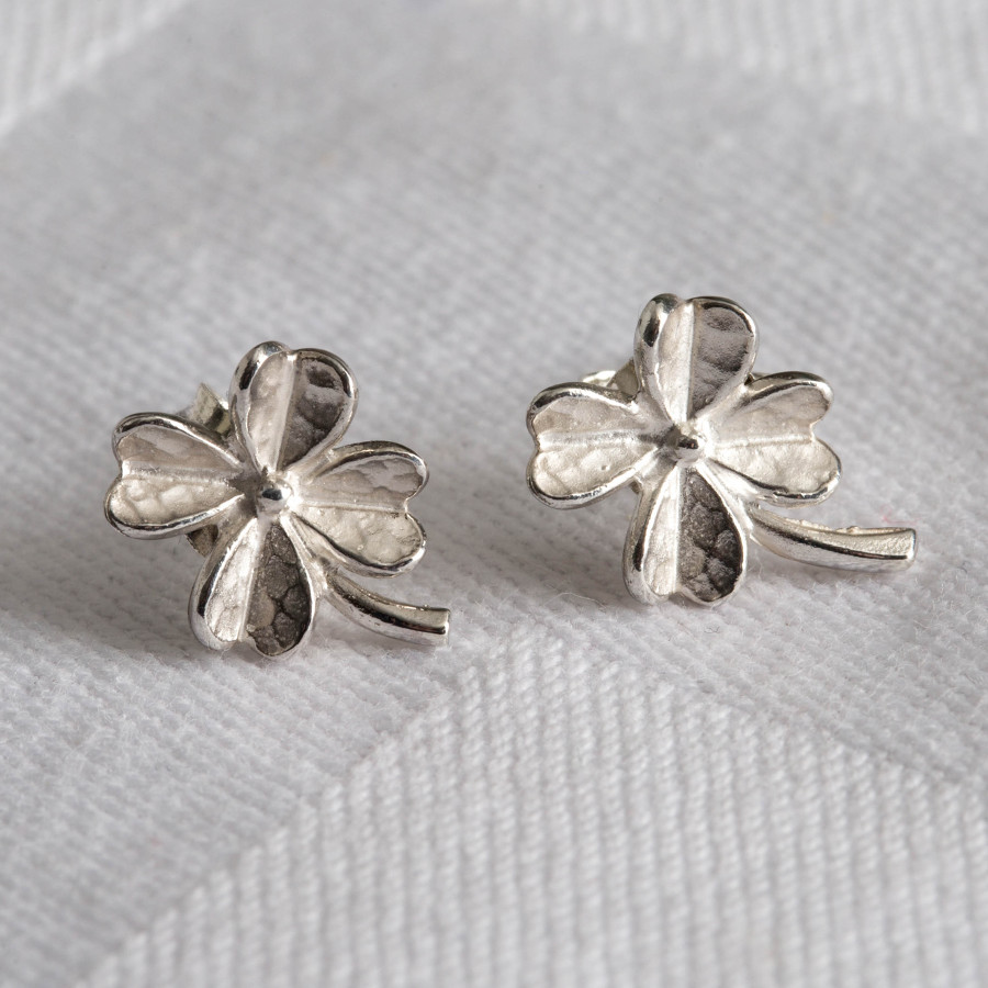 Mosami Clover 'Luck' Earrings