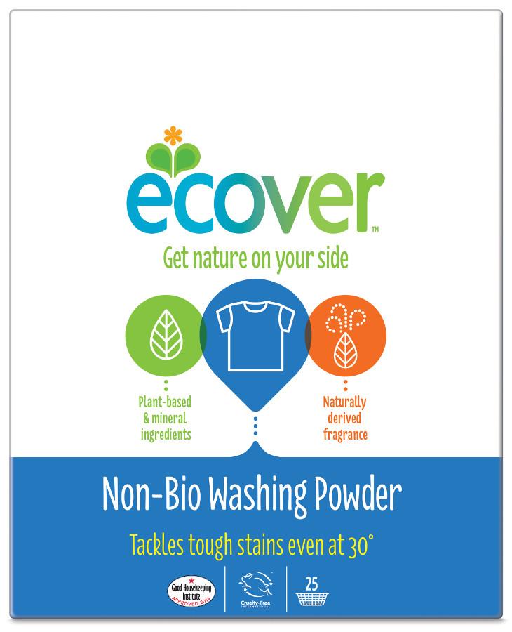Ecover Non-Bio Washing Powder 1.8KG