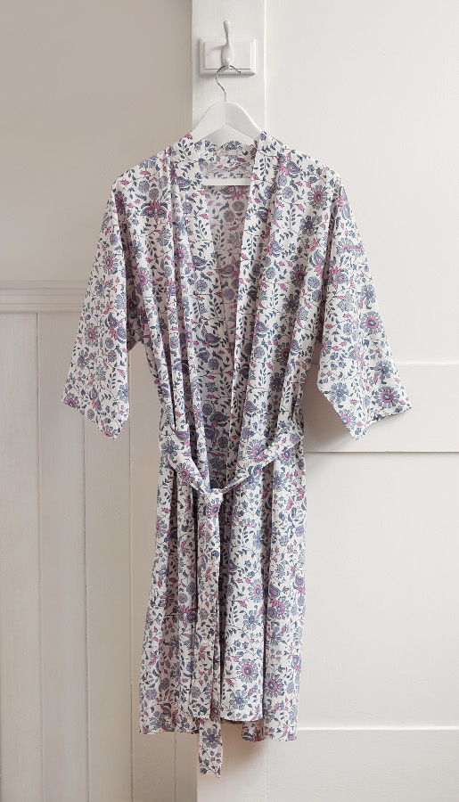 Mala Dressing Gown Traidcraft Natural Collection