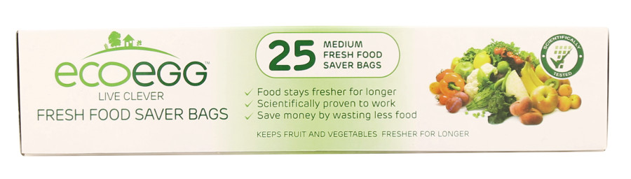 Image of Ecoegg 'Fresher For Longer' Food Preservation Bags - Medium - 25 Bags