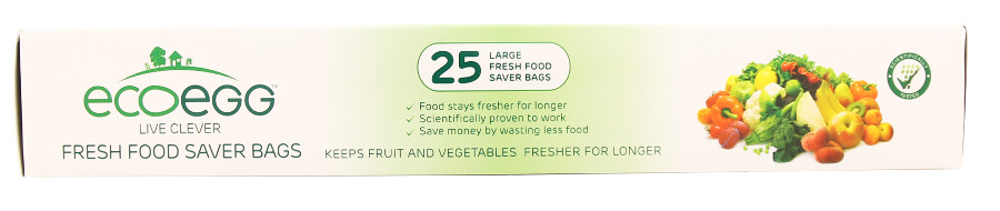 Image of Ecoegg 'Fresher For Longer' Food Preservation Bags - Large - 25 Bags