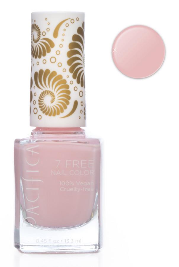 Pacifica 7 Free Vegan Nail Polish - Pink Moon - 13.3ml