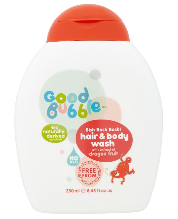 Good Bubble Bish Bash Bosh! Hair And Body Wash - Dragon Fruit - 250ml at Natural Collection