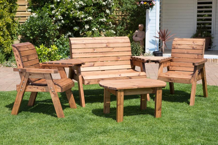 Four Seater Garden Furniture Set - HB07