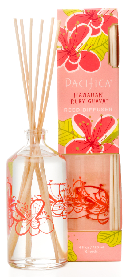 Image of Pacifica Hawaiian Ruby Guava Reed Diffuser - 120ml