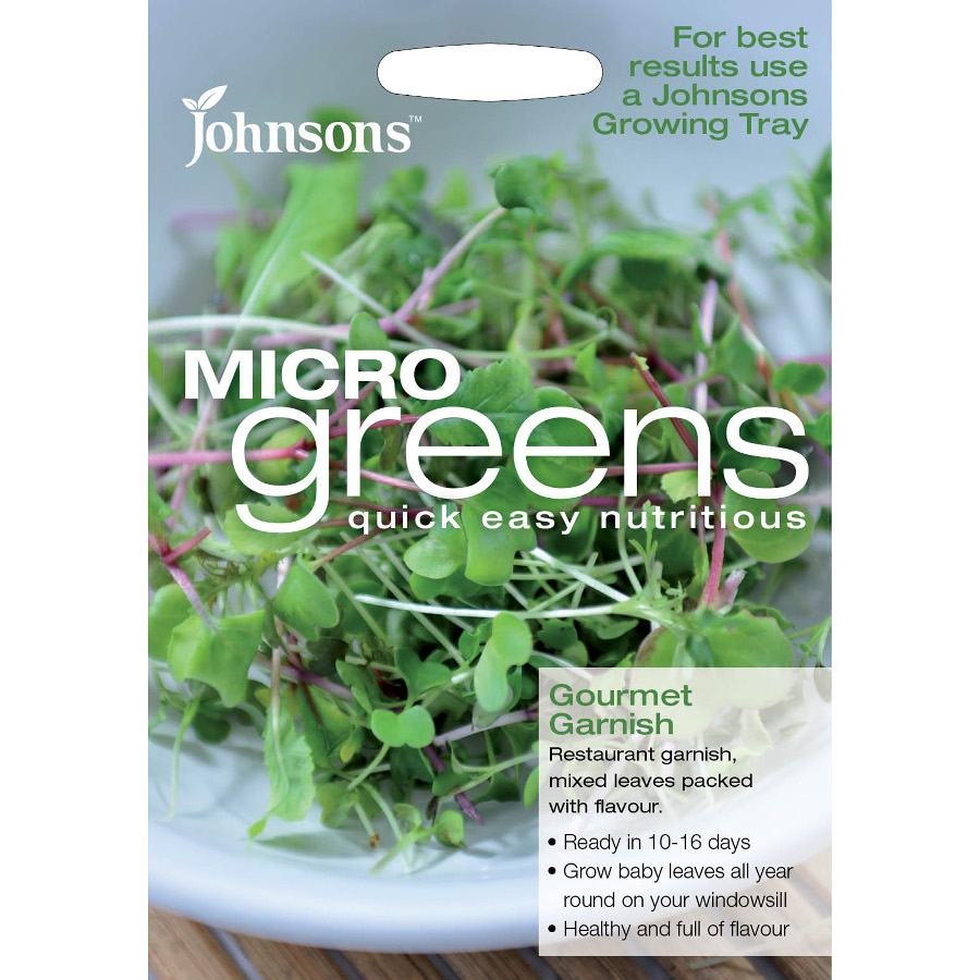 Image of Johnson's Microgreens Seeds - Mixed Leaves