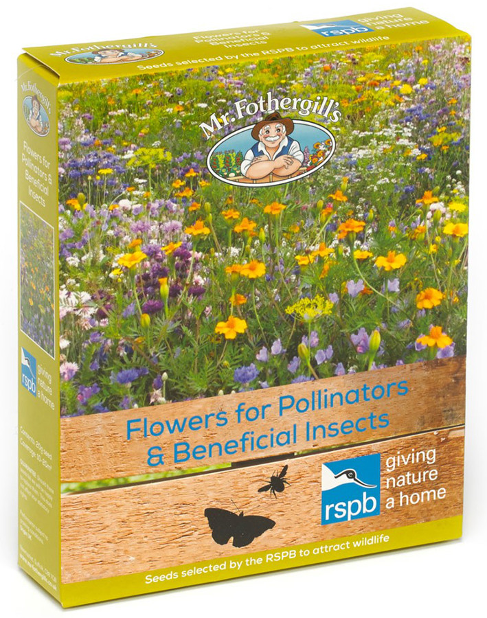 Image of Mr Fothergill's RSPB Seed Mix - Flowers for Pollinators and Beneficial Insects