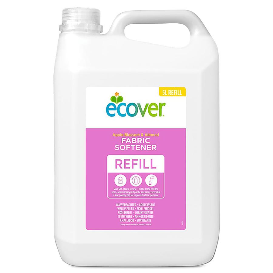 Ecover Fabric Conditioner Refill - Apple Blossom & Almond - 5L