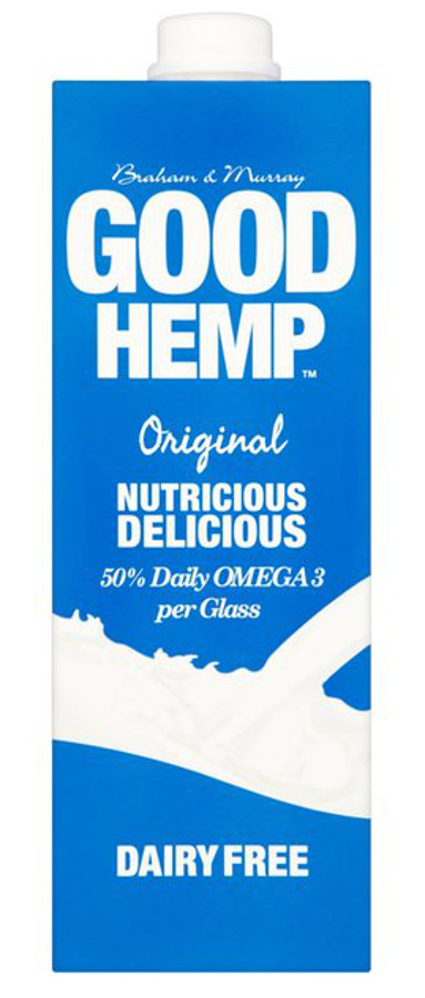 Good Hemp Dairy Free Milk Drink - Original - 1L