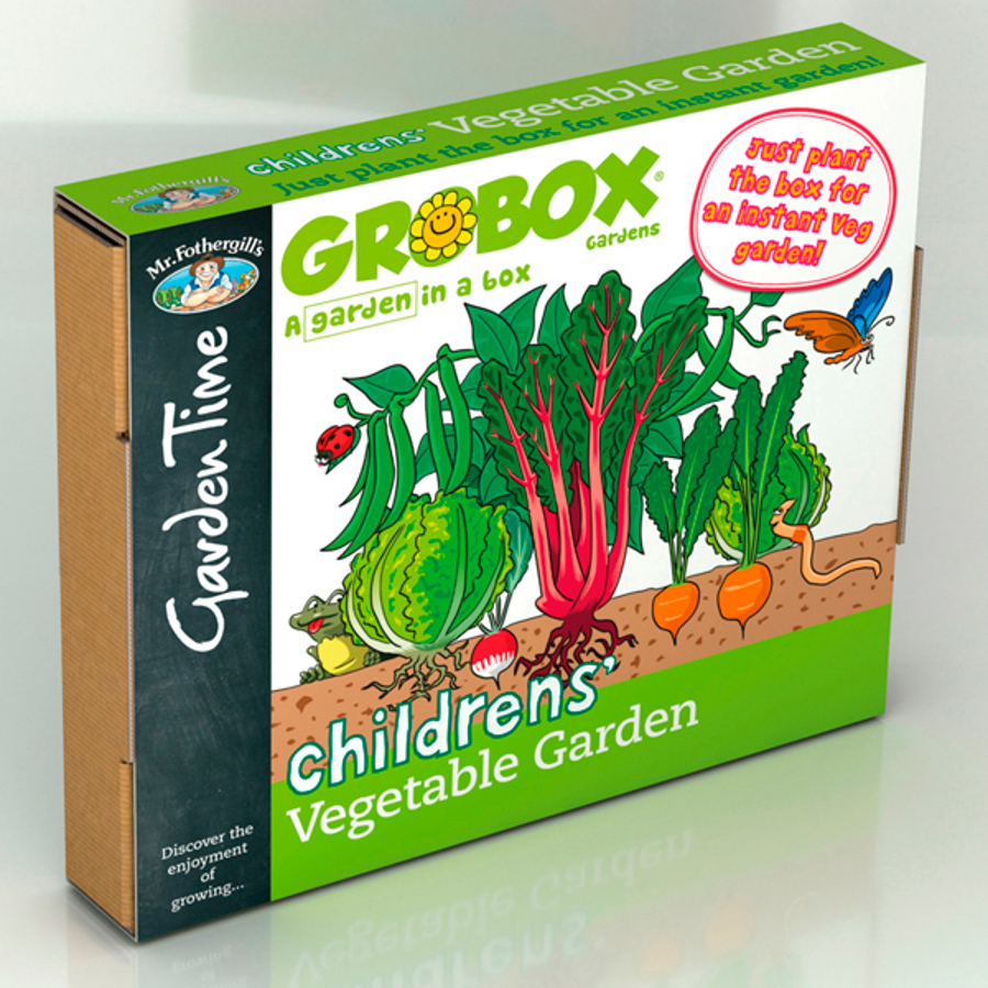 Image of Children's Vegetable Garden GroBox