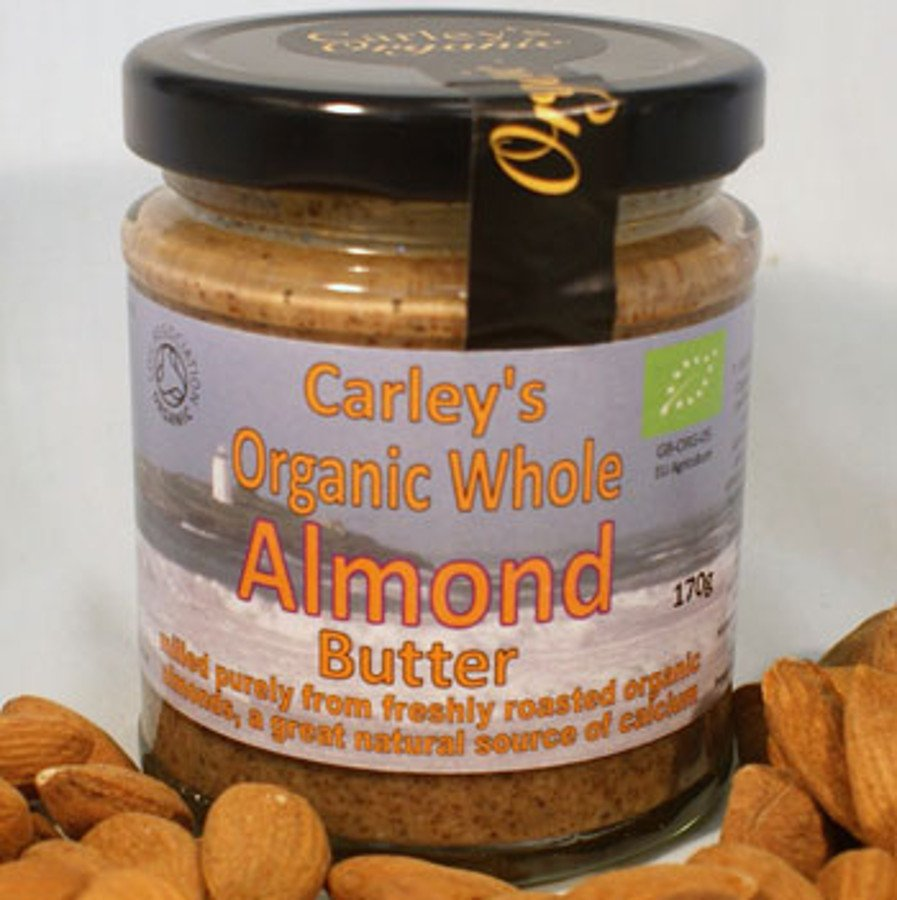 Carley's Organic Whole Almond Butter - 170g.