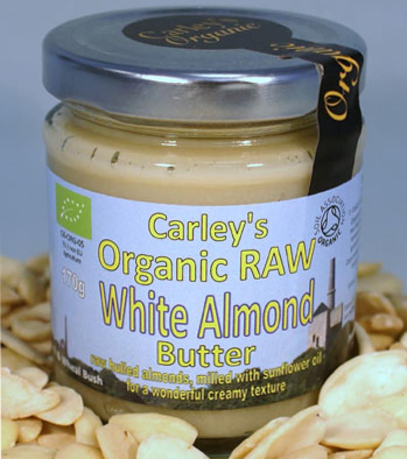 Carley's Organic Raw White Almond Butter - 170g