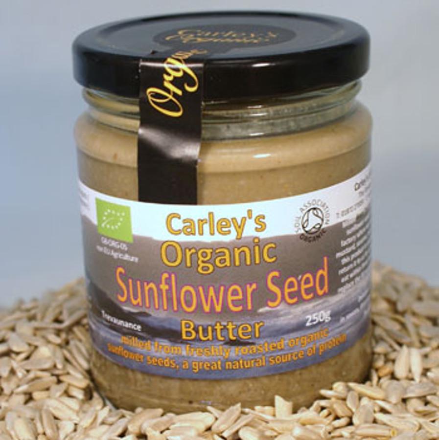 Carley's Organic Sunflower Seed Butter - 250g