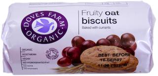 Doves Farm Fruity Oat Digestives 200g