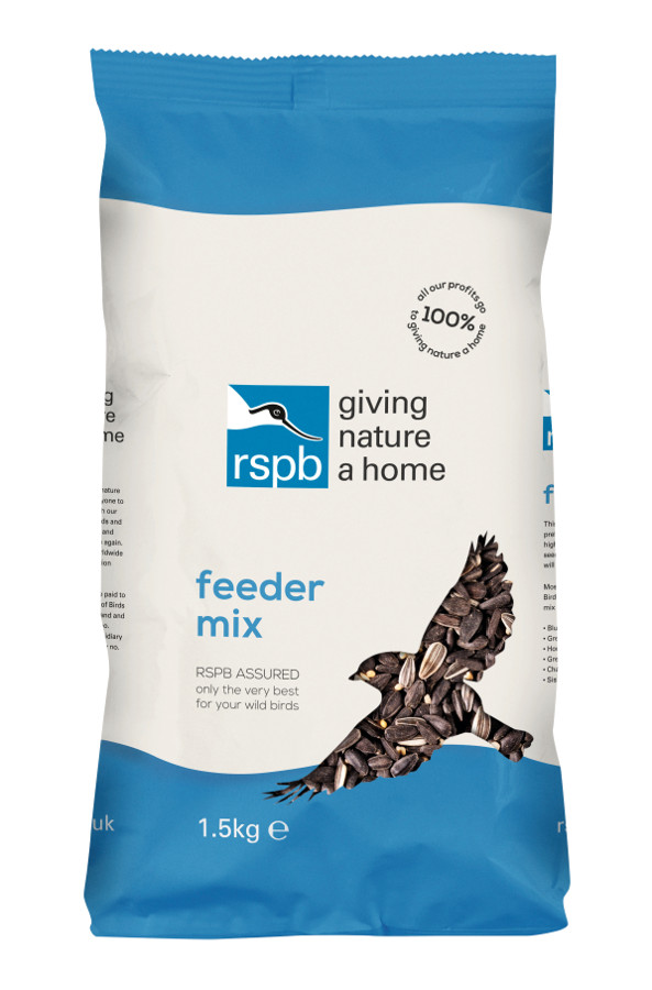 RSPB Feeder Bird Seed Mix - 1.5kg at Natural Collection