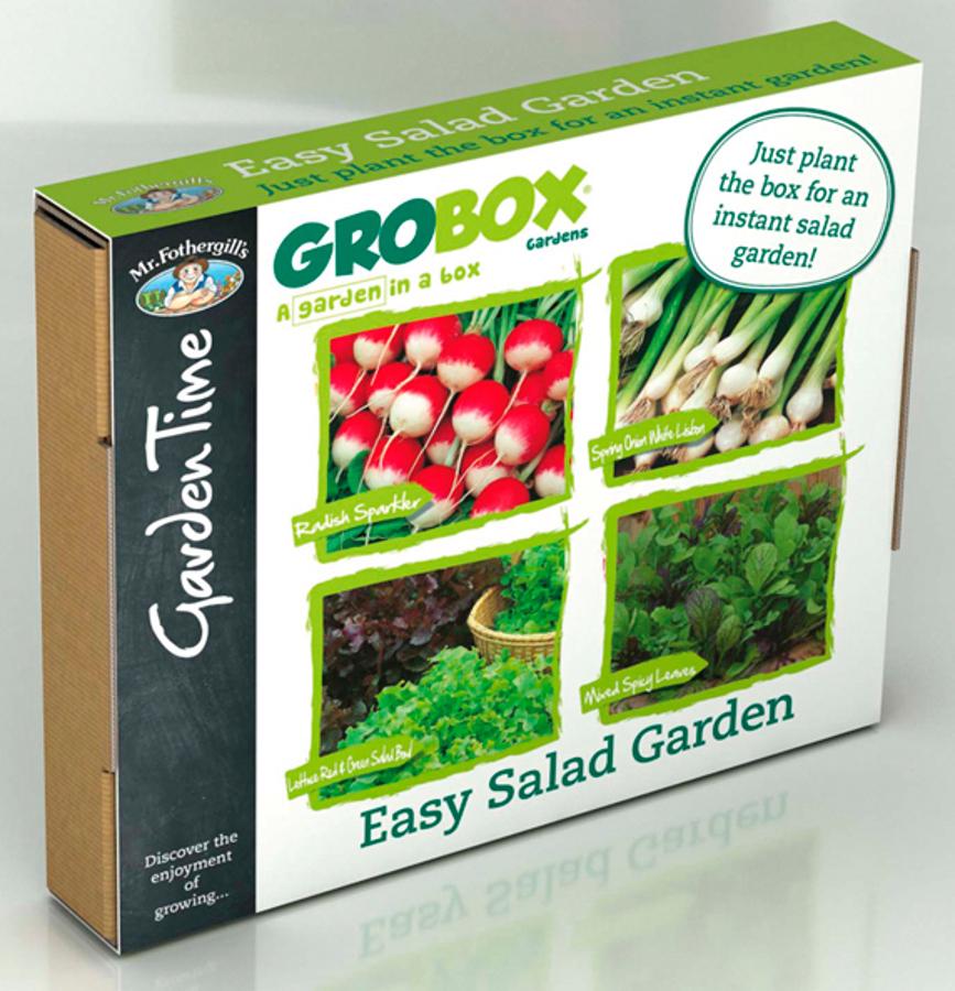 Image of Easy Salad Garden GroBox