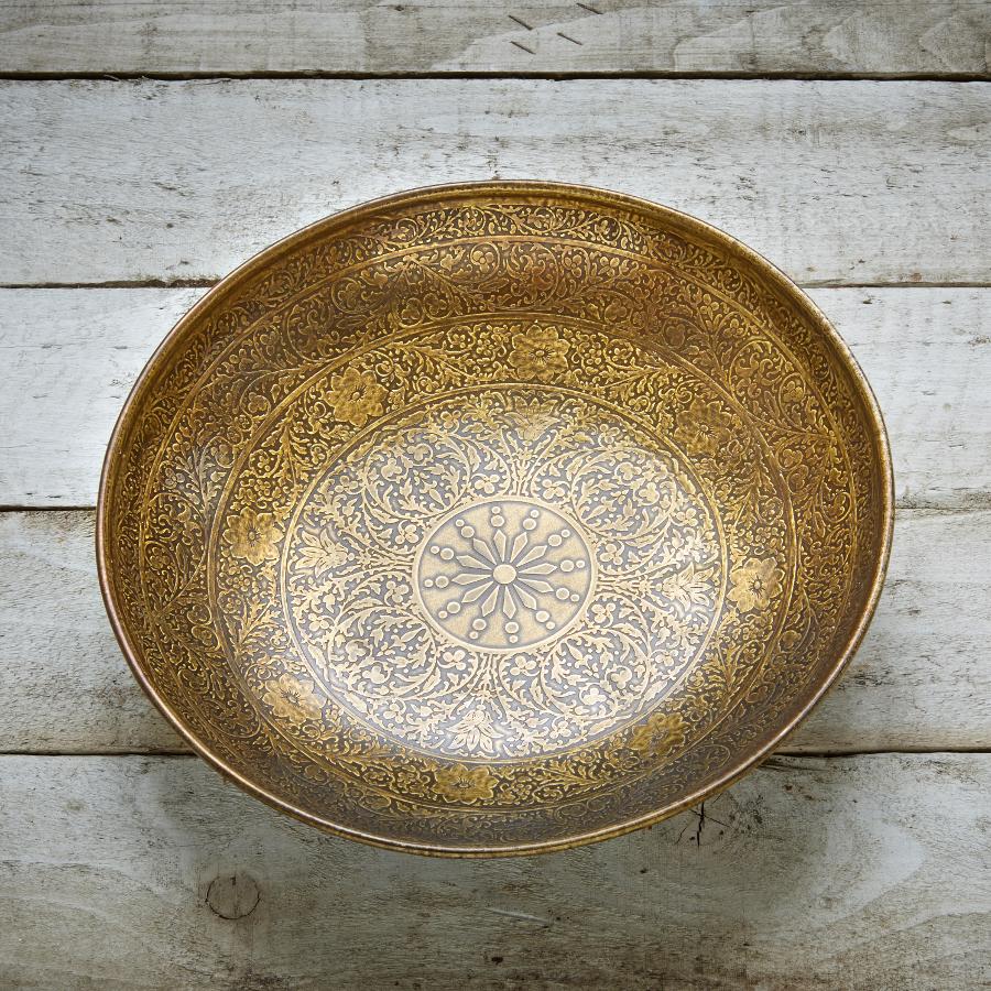 Image of Akel Etched Bowl - Medium