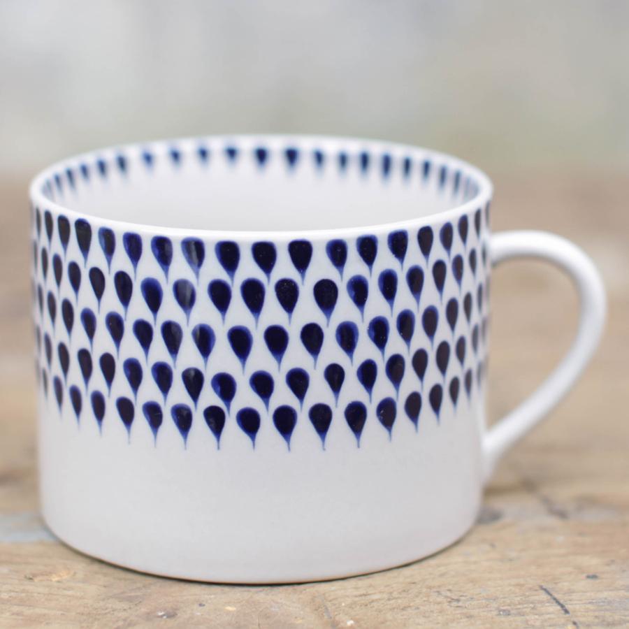 Image of Indigo Drop Mug