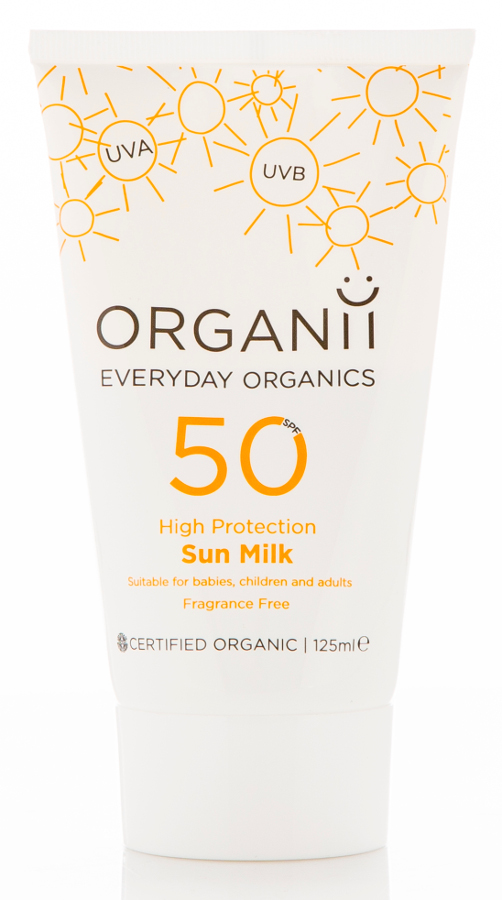 Organii SPF50 Sun Milk - 125ml