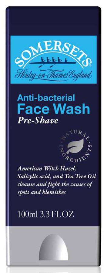 Somersets Anti-Bacterial Balancing Pre-Shave Facial Wash - 100ml