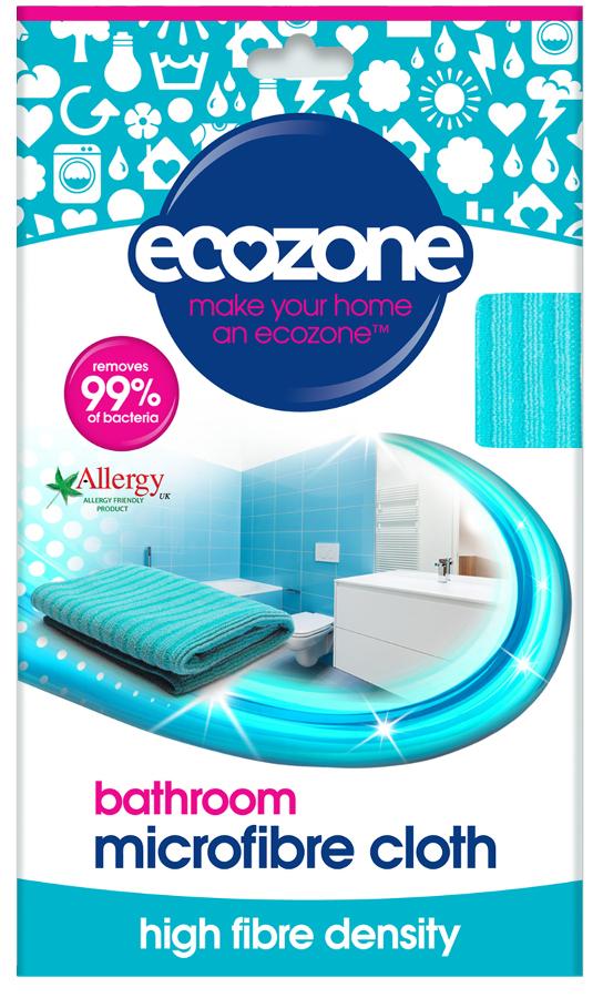 Ecozone Microfibre Bathroom Cloth - 80g