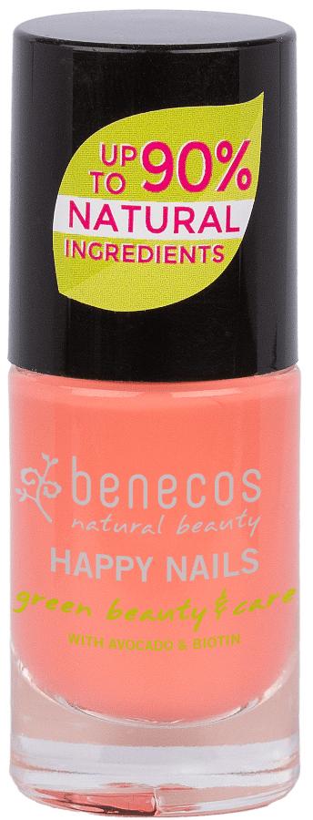 Benecos Nail Polish - Peach Sorbet - 5ml