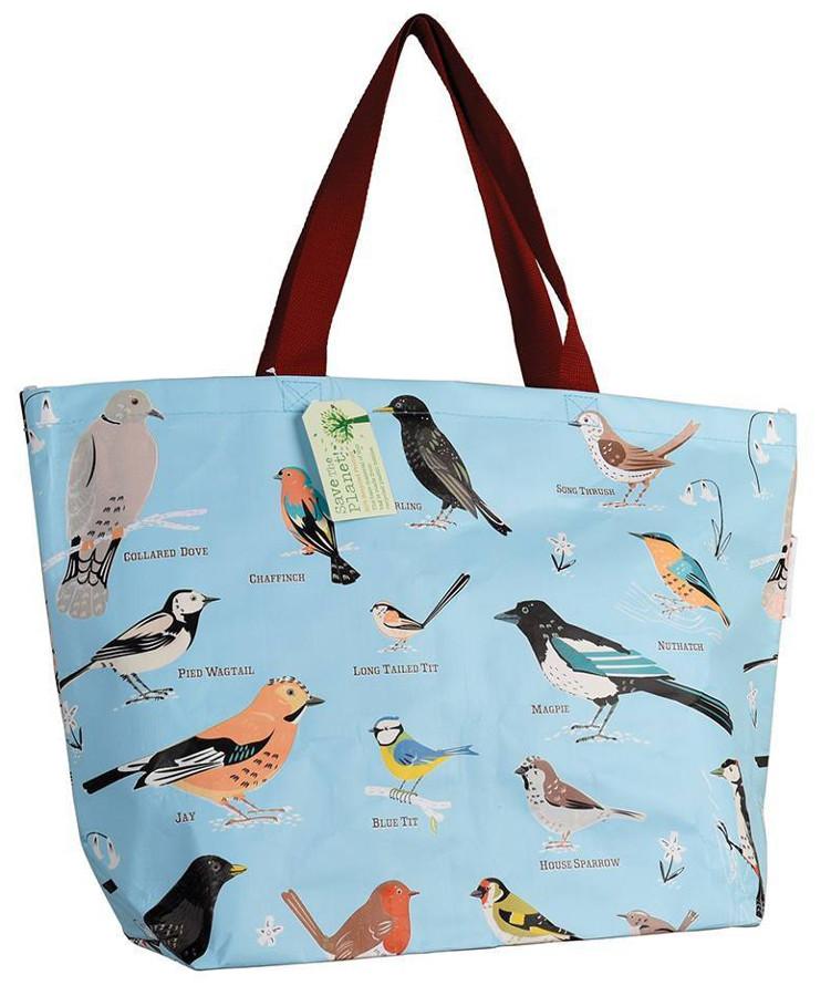 Large Garden Birds Shopper Bag