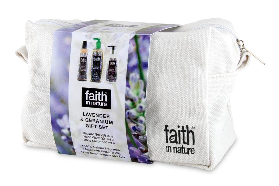 Faith in Nature Lavender & Geranium Gift Set