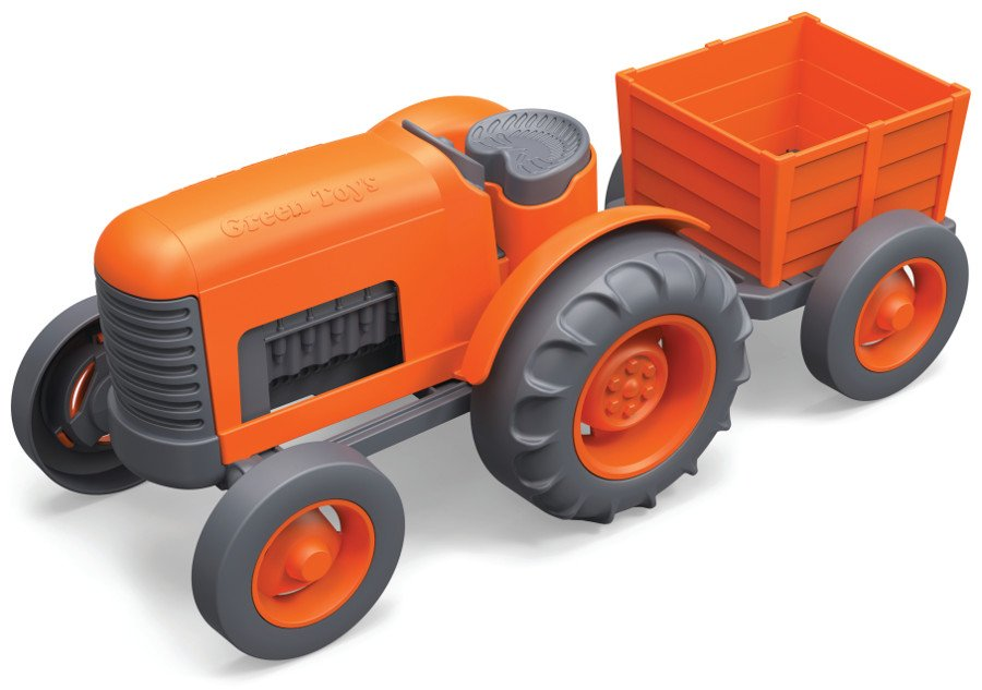 Green Toys Recycled Orange Tractor.