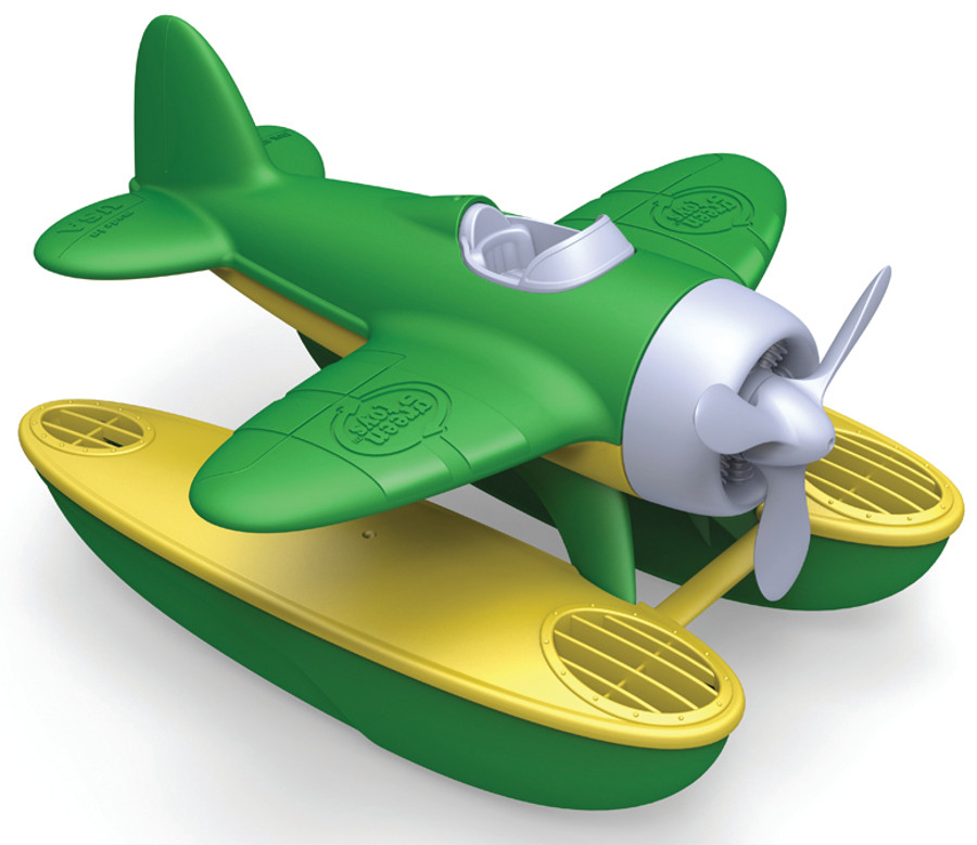Green Toys Recycled Seaplane With Green Wings Green Toys