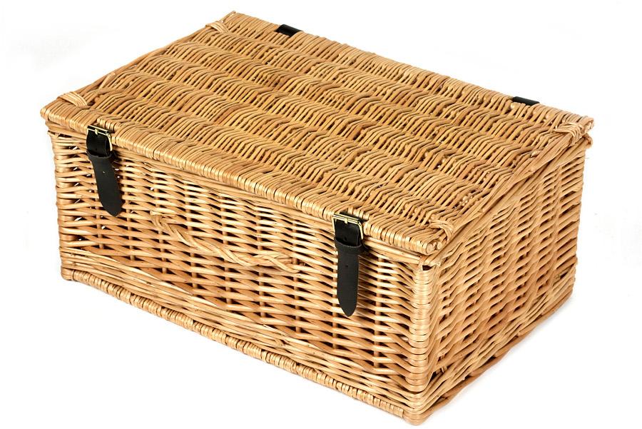 "Image of 18 Wicker Hamper Basket"""