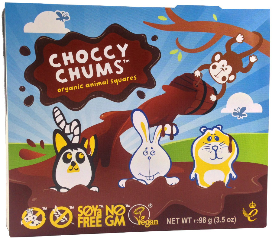 Moo Free Choccy Chums - 98g
