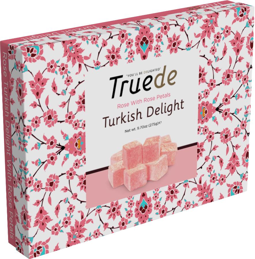 Truede turkish delight rose 275g truede for Divan rose turkish delight